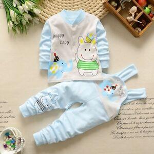 Happy Baby Boy Girl Clothing Overall Sweater Newborn Pijama