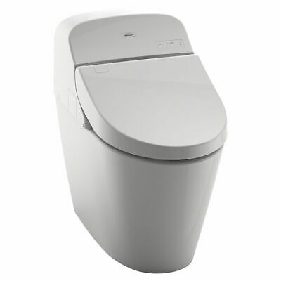 Toto G400 Washlet with Integrated Toilet, Cotton White