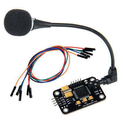 Geeetech Voice Recognition Module and microphone Dupont jumper wire for Arduino