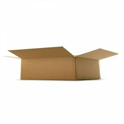 """4x POSTAL CARDBOARD SMALL PARCEL BOX (7,87""""x4.72"""