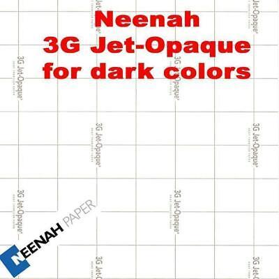 3g Jet Opaque Heat Transfer Paper 8.5 X 11 -100 Sheets