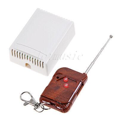 12V 2 Channel Wireless RF Remote Control Switch Relay