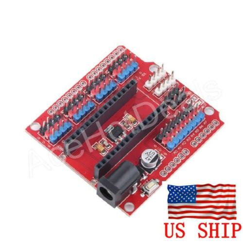 Arduino Nano V3.0 I/O Expansion Board NANO I/O Shield For NANO IO Board