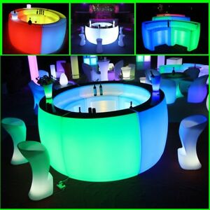 used led glow bars and furniture for sale