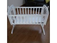 Swinging Baby Crib
