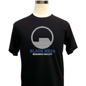 Black-Mesa-Research-Facility-Half-Life-Mens-Gaming-T-Shirt