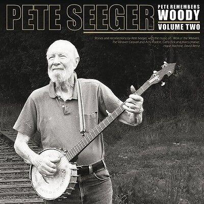 PETE SEEGER Pete Remembers Woody Vol 2 UK 140g vinyl 2LP SEALED/NEW