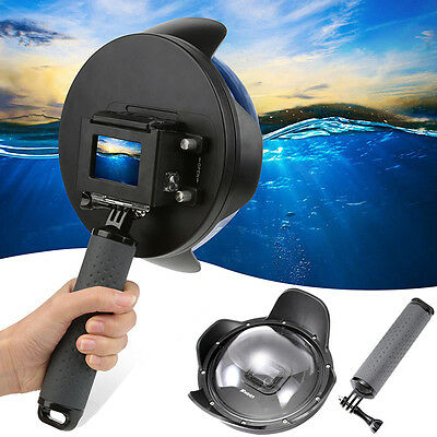 "Shoot 6""Underwater Diving Camera Lens Dome Port Cover Hood for GoPro Hero5 Black"