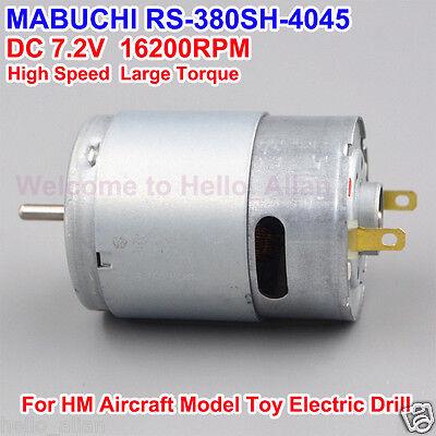 Dc 3v-9v 16200rpm Mabuchi Rs-380sh Motor High Speed Small Electric Dc Motor Diy