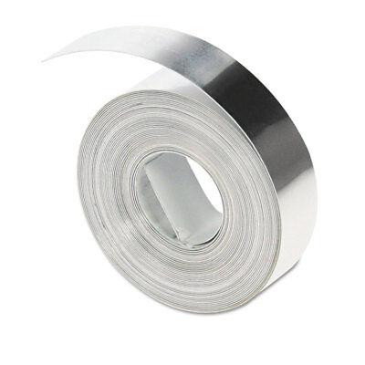 Dymo Rhino Metal Label Self-adhesive Tape 12 X 12 Ft. Aluminum 35800