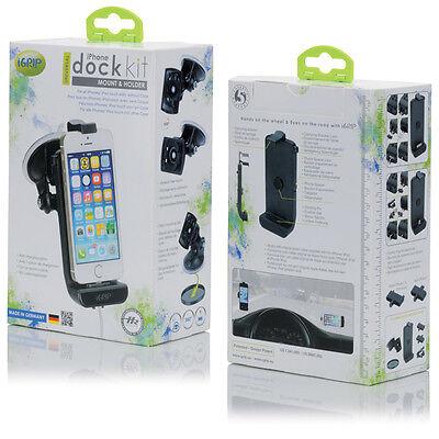 iGrip DOCK KIT Passiv / Aktiv iPhone  5C, 5S, 5, 4, 4S 3, 3G, 3GS, iPod Touch 4 Ipod Dock Kit