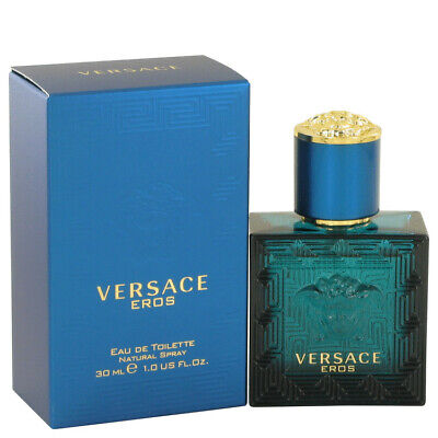 Versace Eros by Versace for Men EDT Spray 100% Authentic CHOOSE SIZE