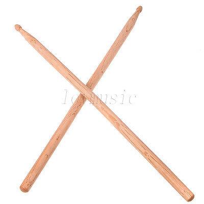 1 Pair of 5A Jazz Durm Sticks Drumsticks Oak wood Tip