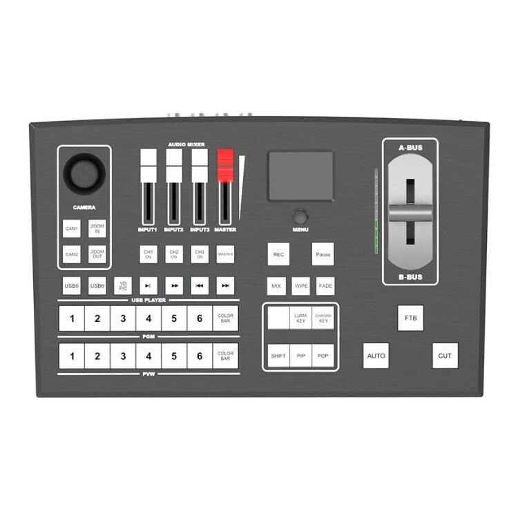 Lilliput PVS0605 Portable Standalone 6 Channel Multi-Format Video Switcher