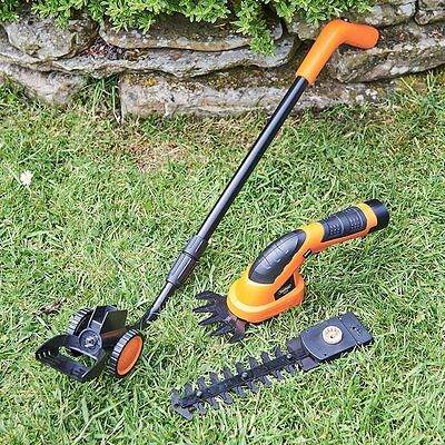 Grass Shears Hedge Outdoor Gardens Lithium Ion Cordless Trimming Gracious New UK