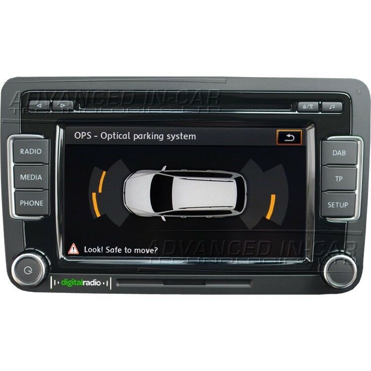 Vw double din dvd RCD 510 DAB,Radio,SD Card etc | in Huddersfield, West  Yorkshire | Gumtree
