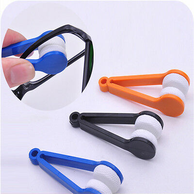 Mini Soft Eye Glasses Lens Cleaning Cleaner Wipe Spectacle Eyeglass Eyewearし