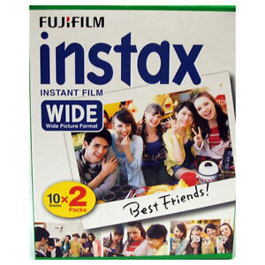 Fuji Instax Wide Instant Film 20 Pictures