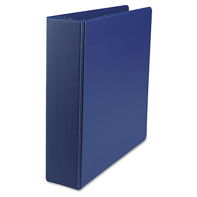 Universal Suede Finish Round Ring Binder 2 Capacity Royal Blue