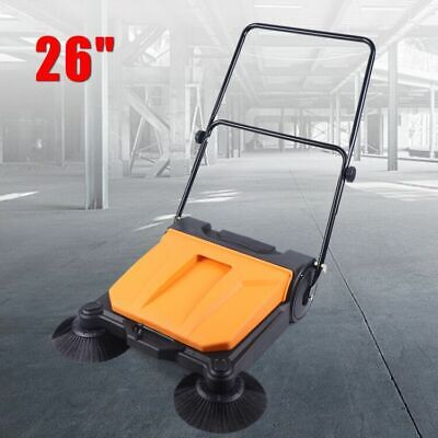 26 All Weather Sweeper Push Hand Floor Broom Household Cleaning Manual Cleaner