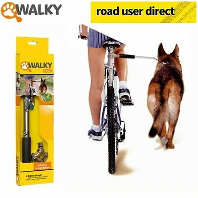 Walky Dog - The Dog Walking Bike Attatchment - Fits All Cycles - Free Delivery !