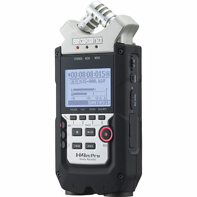 New Zoom H4N Pro Handy Recorder USB  Interface Auth Dealer Warranty Best