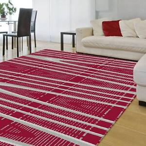 MODERN RUG-SMALL CARPET-120CM X 170CM-COLOR-RED(6880)-CARPET Bass Hill Bankstown Area Preview