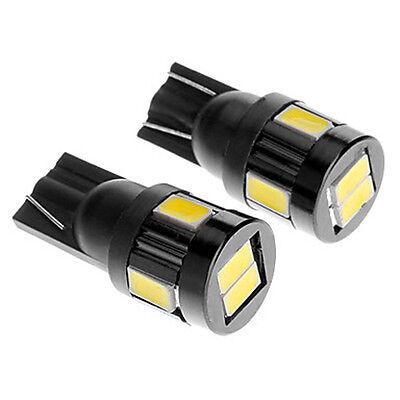 Led 5630 Chip White License Plate Tag Light Bulb T10 158 161 168 194 2825 3652