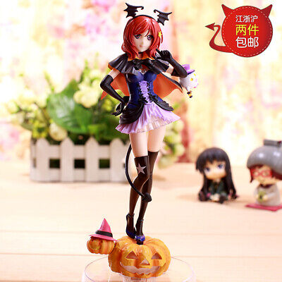 Anime Love Live! Maki Nishikino Halloween Ver. Pumpkin Light Figure No Box (Love Live Halloween Figure)