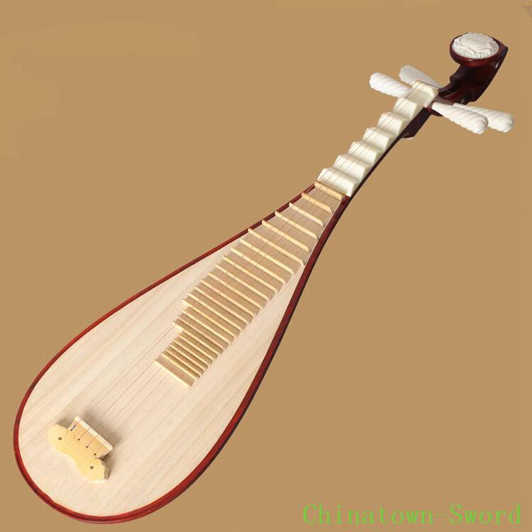 TIANYIN Chinese Soprano Pipa Lute Guitar Handmade Musical Instrument LiuQin#4124