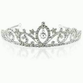 New rrp £120 Buckingham palace tiara royal collection swarovski crysal