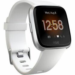Fitbit FB415SRWT Versa Lite Edition Smart Watch One Size (S & L Bands)FREE SHIP™