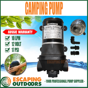 12V CARAVAN BOAT CAMPING WATER PUMPS AT WAREHOUSE PRICES FROM $40