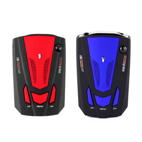 Car 16 Band 360° Anti-police Gps Camera Laser Radar Detector Voice Alert New