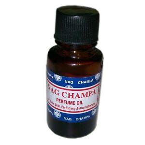 Nag Champa Perfume Oil 15ml. Body, Bath, Perfume & Aromatherapy. Stocking Filler