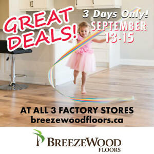 HARDWOOD FLOORS • INVENTORY CLEAROUT • Sale extended!