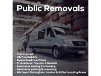 Cheap Man & Van 15/ph professional removals Last Minute Booking