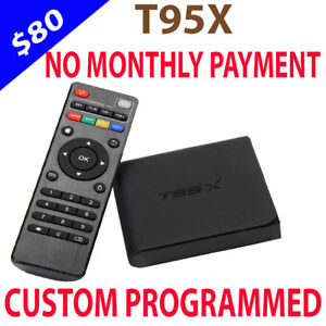 T95X ANDROID TV BOX IPTV FOR SALE NO MONTHLY