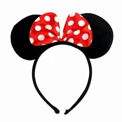 Minnie Maus Haarreif, Mickey Maus Ohren, Disney Hochzeit, JGA, JGA Set