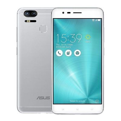 ASUS Zenfone 3 Zoom ZE553KL 64GB Glacier Silver Dual Sim Unlocked International