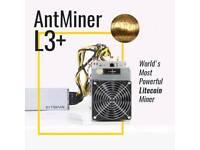 Litecoin miner l3 antminer 504mh