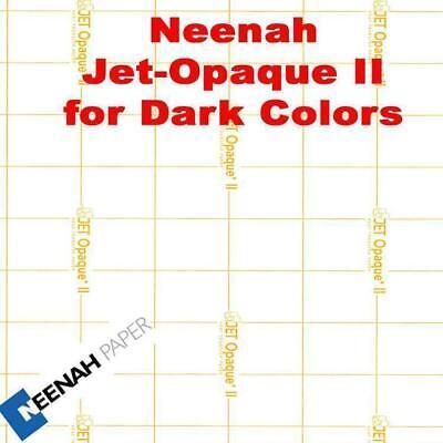 Jet Opaque Ii Heat Transfer Paper 8.5 X 11 -26 Sheets