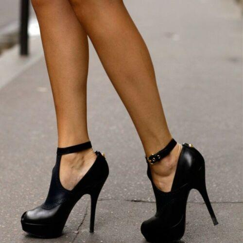 Womens Open Toe Stilettos High Heel Nightclub Pumps Shoes Platform Faux Fur