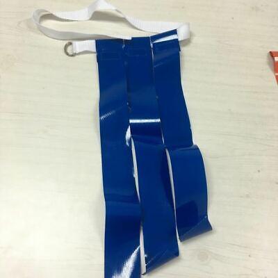 "Triple Threat Flag Football Belt w/ BLUE Flags - LARGE:  40"" --44"