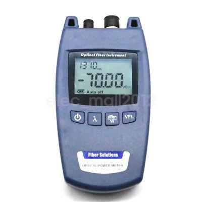 New FTTH Fiber Optic Optical Power Meter TL-520A -70~+10dBm support FC SC ST Fiber Power Meter