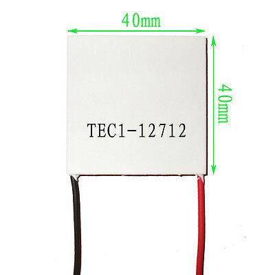 5pcs Tec1-12712 Heatsink Thermoelectric Cooler Cooling Peltier Plate Module