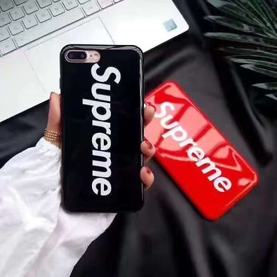 Fashion Supreme Thin Soft Case For Iphone X 6 7 8 Plus Silicon Back Cover Cool