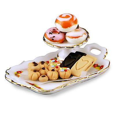 Reutter Mixed Breakfast Pastries Set 16518 DOLLHOUSE Miniature 1:12 gemjane