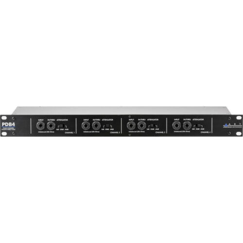 ART PDB4- Rackmountable 4-Channel Passive Direct Box NEW! Free 2-Day Delivery!