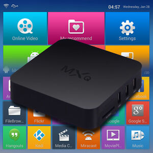 Lot of 10 MXQ Android Boxes - 10 boites TV Android MXQ